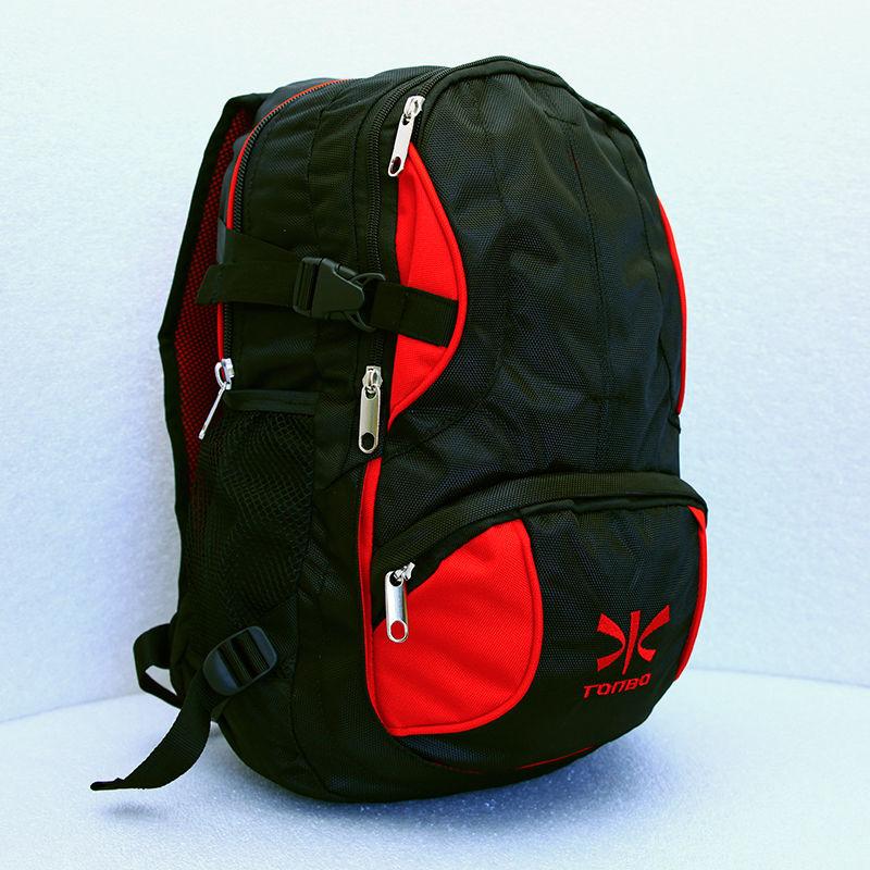 plecak TONBO czarno-czerwony 30L