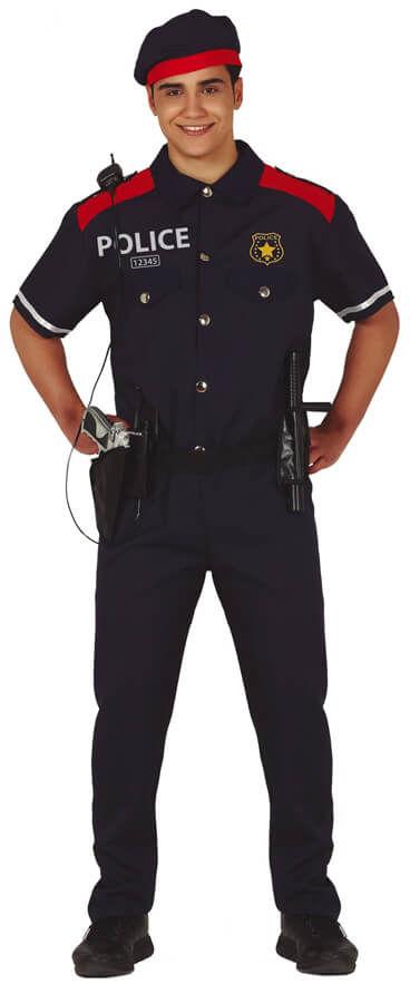 Kostium Policjanta dla mężczyzny - L (52-54)