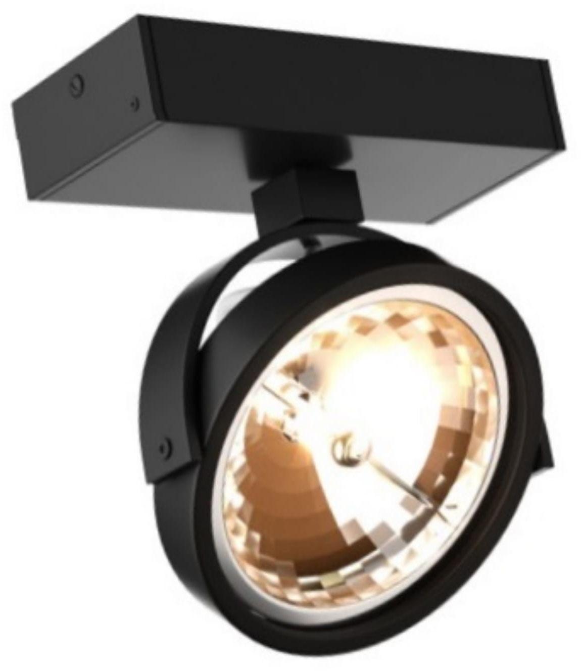 Light Prestige Romeone 1 LP-2113/1W BK kinkiet lampa ścienna czarna metalowa G9 1x33W 14cm