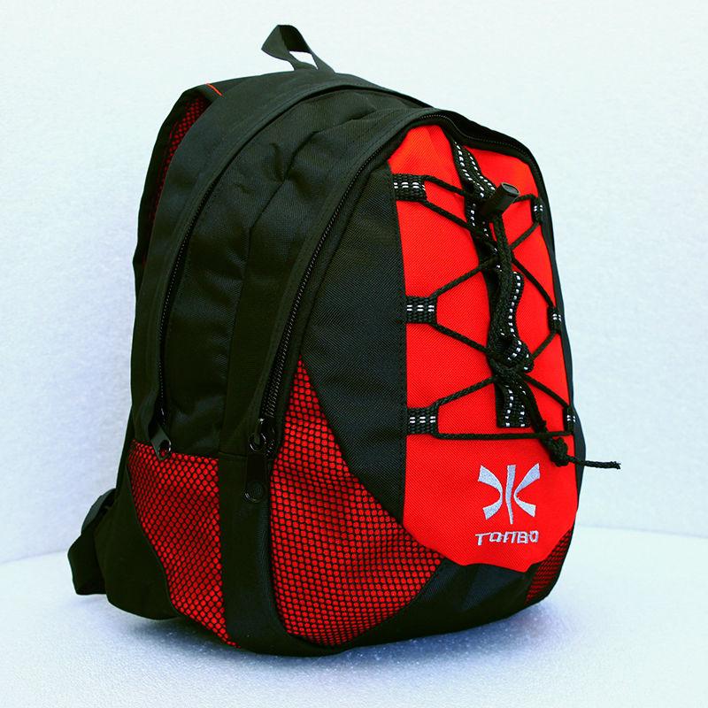 plecak TONBO czarno-czerwony 26L