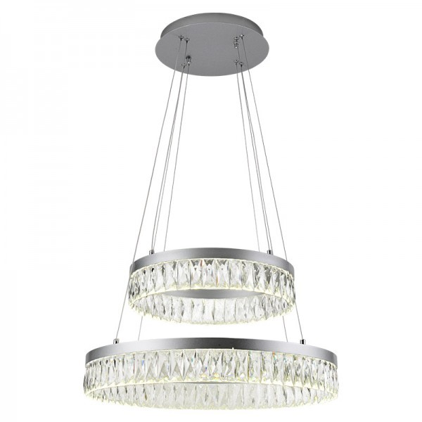 Żyrandol kryształowy RING 100Watt - K153