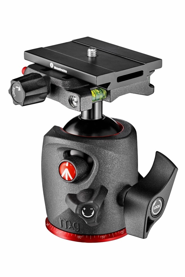 Manfrotto MHXPRO-BHQ6 - głowica kulowa Manfrotto MHXPRO-BHQ6 - głowica kulowa