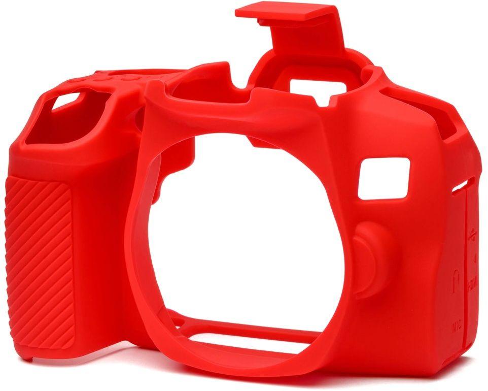 Osłona silikonowa easyCover do aparatów Canon EOS 850D czerwona