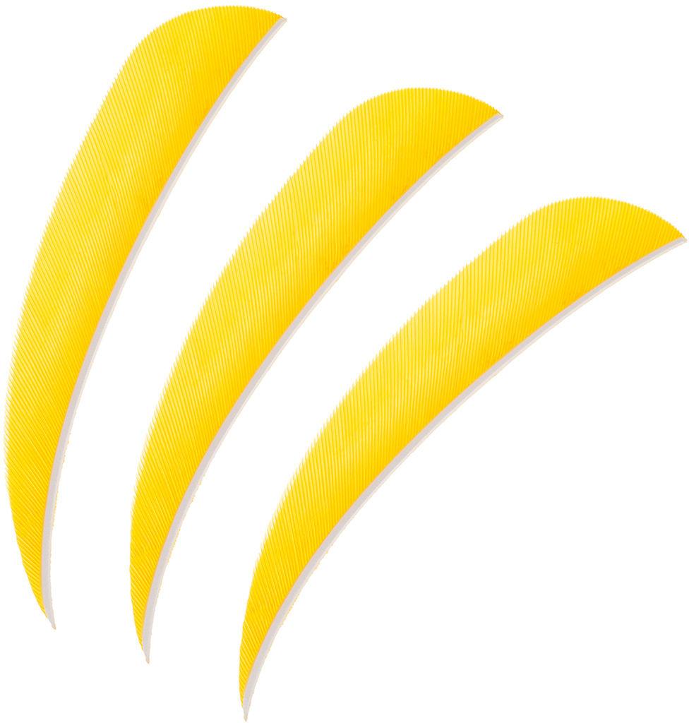"""Lotki Poe Lang 4"""" żółte - 3 szt. (B30061B-E)"""