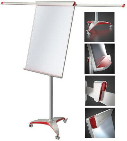 Tablica Flipchart 2x3 suchościeralno-magnetyczna mobilna Mobilechart Pro Red TF18 Rabaty Porady Hurt Autoryzowana dystrybucja Szybka dostawa