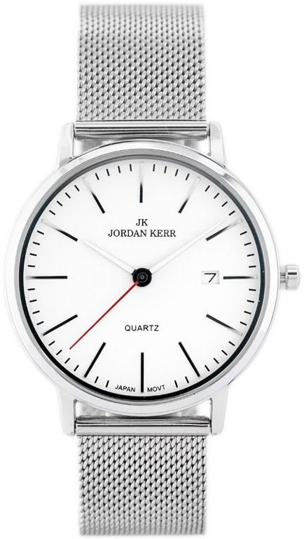 ZEGAREK MĘSKI JORDAN KERR - I2004 (zj122a) silver