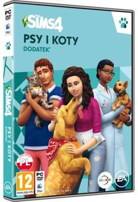 Dodatek do gry The Sims 4 Psy i koty+ 40 zł na dzień dobry w Klubie MediaMarkt. Sprawdź!