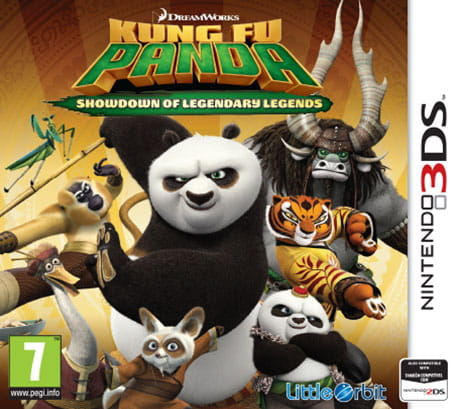 Gra Kung Fu Panda: Showdown of Legendary Legends (Nintendo 3DS)