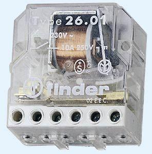 Przekaźnik impulsowy 2NO 10A 12V AC 26.02.8.012.0000