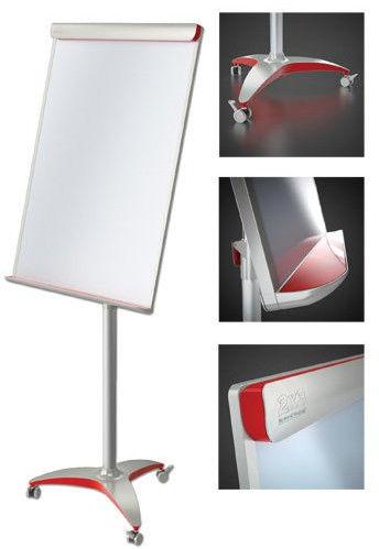 Tablica Flipchart 2x3 mobilna suchościeralno-magnetyczna Office Pro Mobilechart Red TF17 Rabaty Porady Hurt Autoryzowana dystrybucja Szybka dostawa