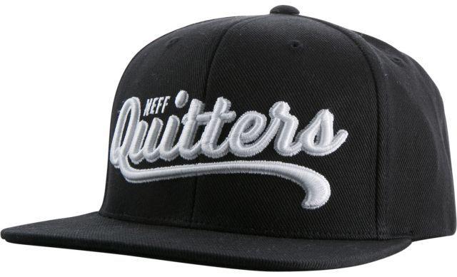 czapka męska NEFF QUITTERS CAP BLACK