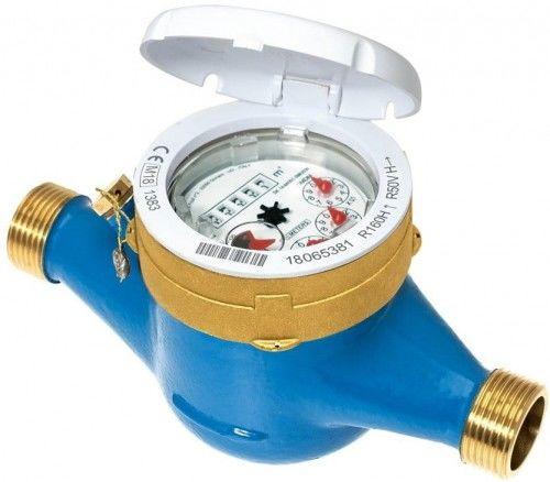"""Wodomierz wielostrumieniowy, suchobieżny: GMDM-I 1/2"""" AF Q3-2,5 m3/h DN15 R100/R50 do wody zimnej o przepływie 1,5m3, z gwintem  cala BMETERS"""