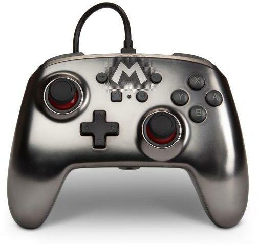 PowerA Switch Pad przewodowy Mario Silver