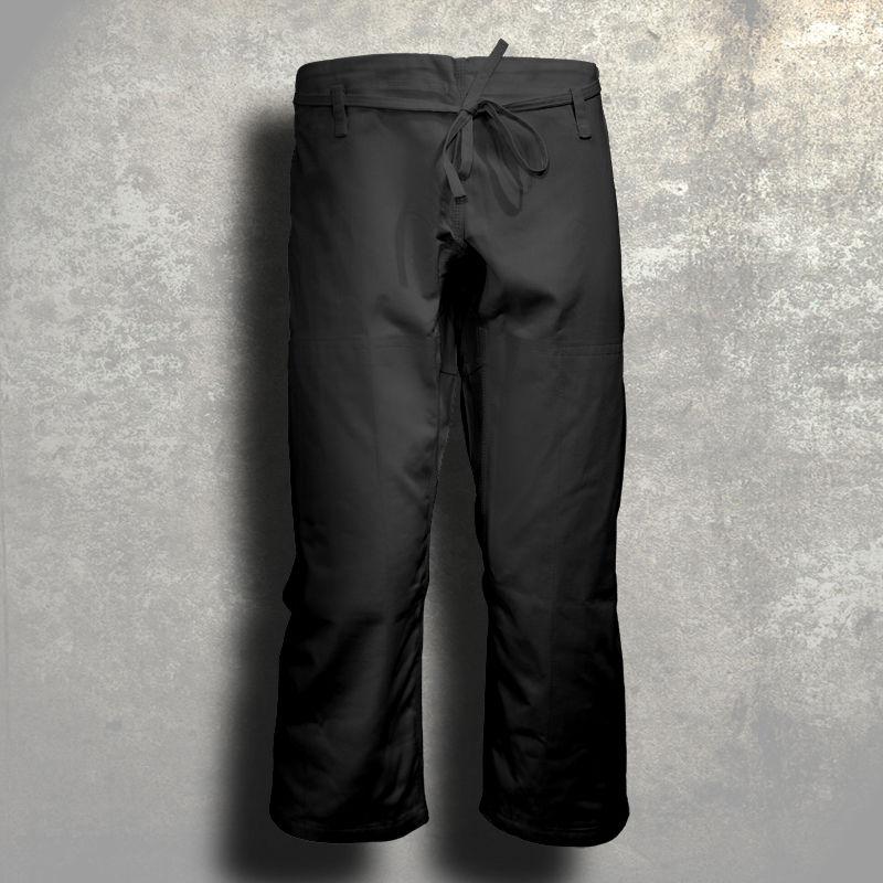 spodnie do ju-jitsu TONBO - MASTER, czarne, 12oz - SKAZA