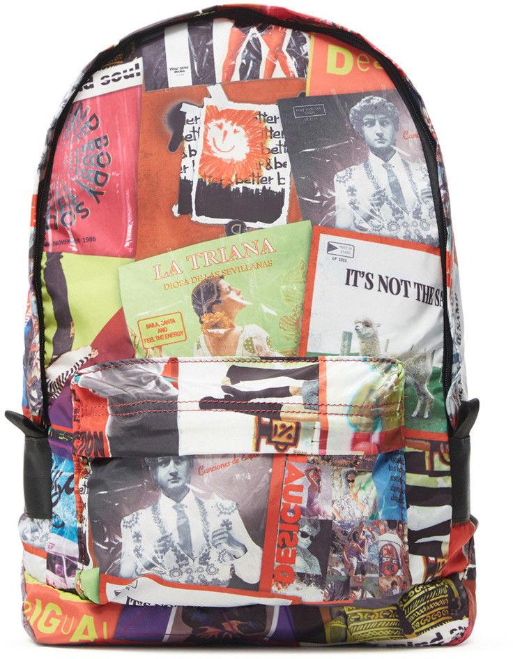 Desigual kolorowy plecak Disco Foldes Plegable