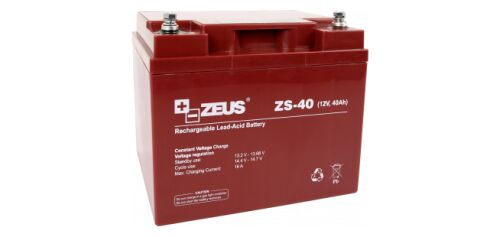 ZS-40 AKUMULATOR 12V/40AH - ZEUS