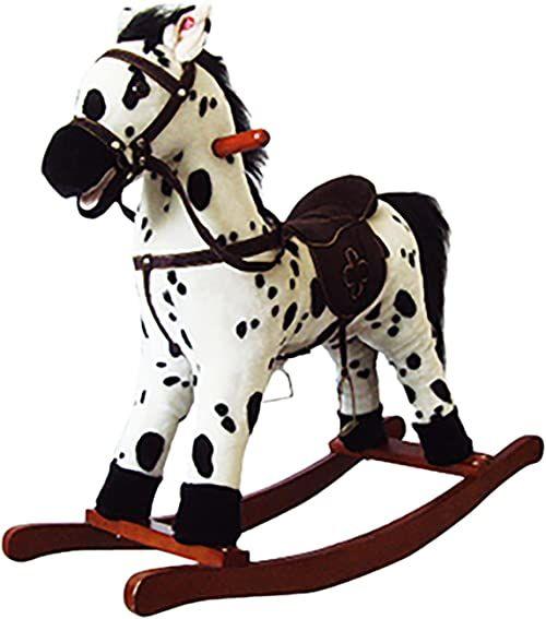 Knorrtoys 40505 Koń na biegunach Appaloosa
