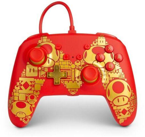 PowerA Switch Pad przewodowy Mario Golden M