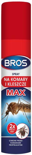 BROS Spray na komary i kleszcze MAX 90 ml