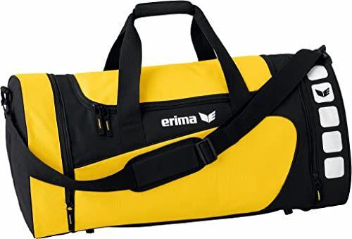 Erima 72333 torba sportowa, żółta/czarna, S, 28 litrów, 28 litrów
