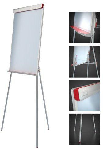 Tablica Flipchart 2x3 suchościeralno-magnetyczna Popchart Red TF15 Rabaty Porady Hurt Autoryzowana dystrybucja Szybka dostawa