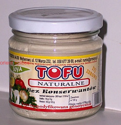 Tofu naturalne - 170 g