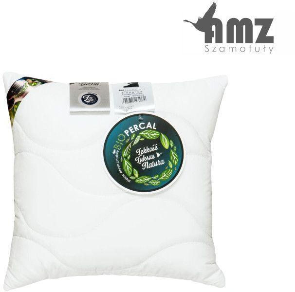 Poduszka antyalergiczna AMZ Biopercal, Kolor - biały, Rozmiar - 50x60, Poduszka - termo NAJLEPSZA CENA, DARMOWA DOSTAWA