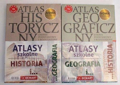 Pakiet edukacyjny. Geograficzny i historyczny atlas do liceum i technikum - Opracowanie zbiorowe