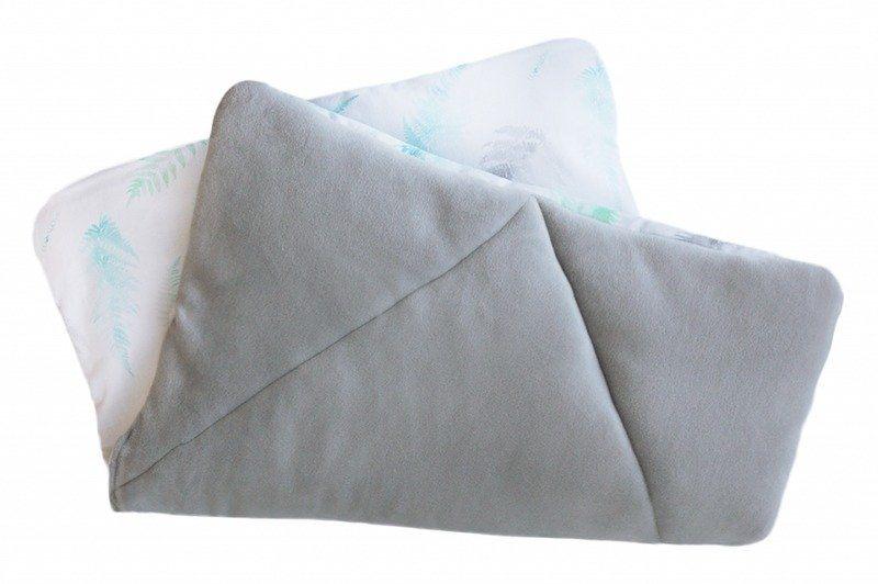 Poduszka dla dziecka Paprocie mięta LL5152-Lullalove, wyprawka dla niemowlaka