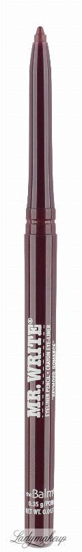 The Balm - MR. WRITE - Long-lasting Eyeliner Pencil - Długotrwały eyeliner w kredce - PRUNE