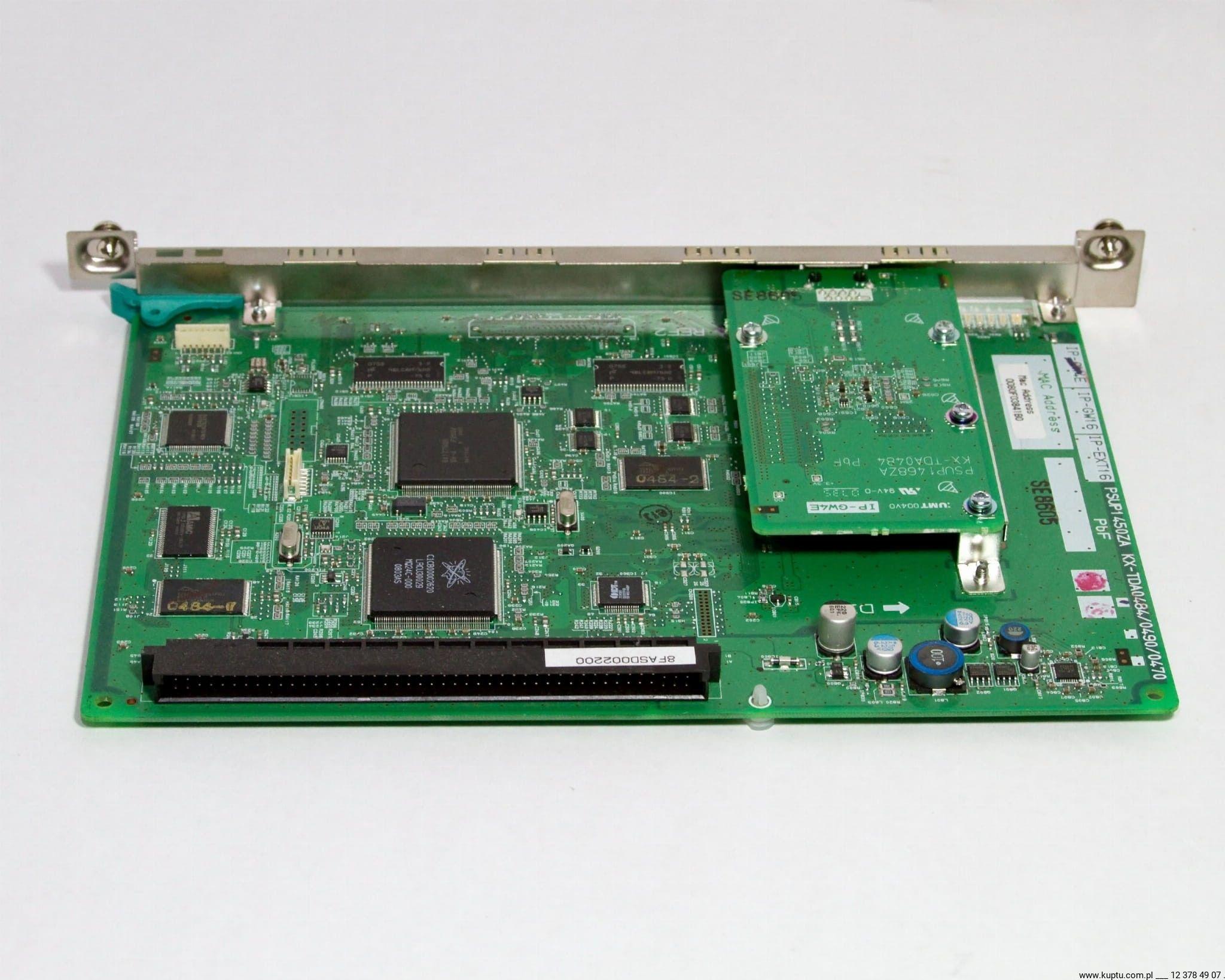 KX-TDA0484, karta VoIP 4 kanały H323 Panasonic UŻYWANA 1 rok gwarancji