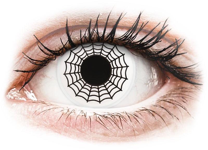 ColourVUE Crazy Lens - Spider - zerówki