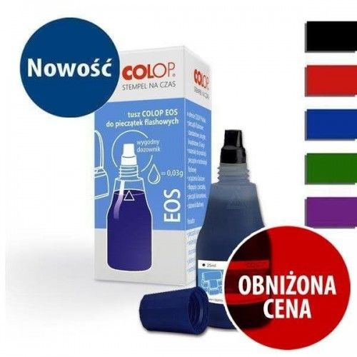 TUSZ COLOP EOS DO PIECZĄTEK FLASH 25 ml