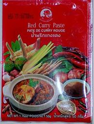 pasta curry czerwona - 50g