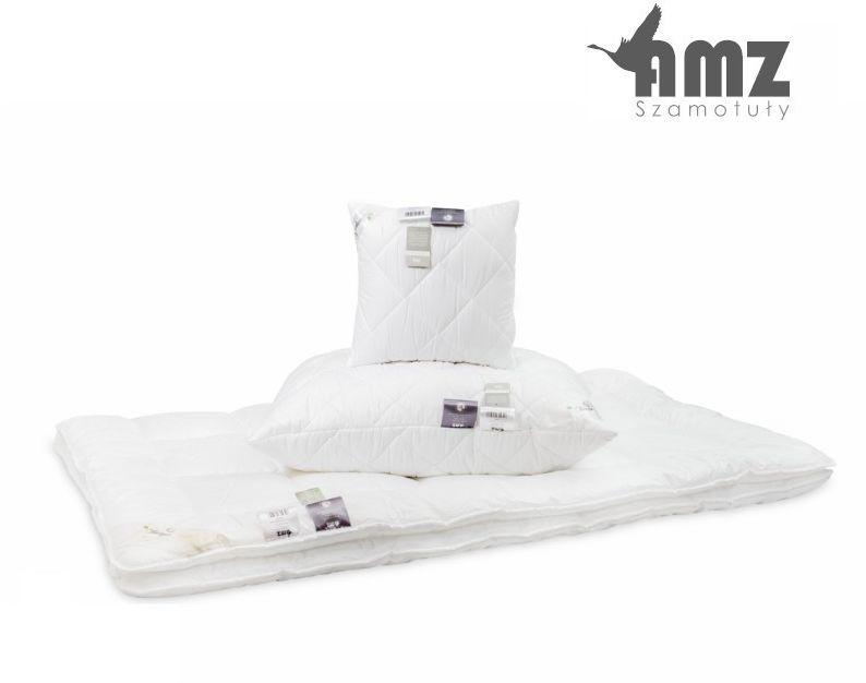 Poduszka antyalergiczna AMZ Batyst, Kolor - biały, Poduszka - gładka, Rozmiar - 50x60 NAJLEPSZA CENA, DARMOWA DOSTAWA