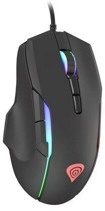 NATEC Mysz Genesis Xenon 220 dla graczy 6400 DPI podświetlenie RGB