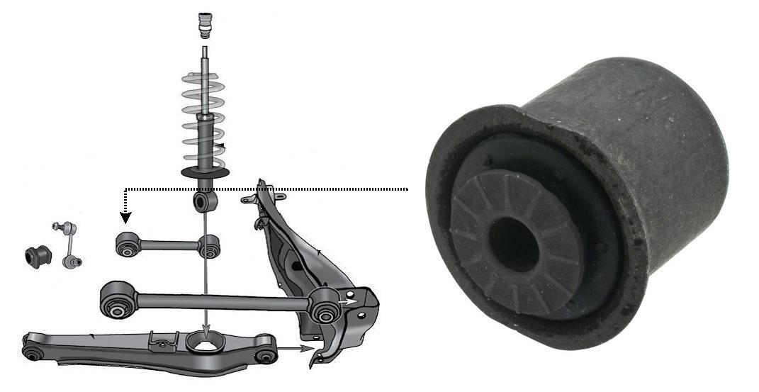 Tuleja wahacza K200179