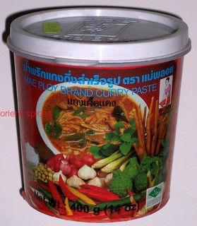 pasta curry czerwona - 400g