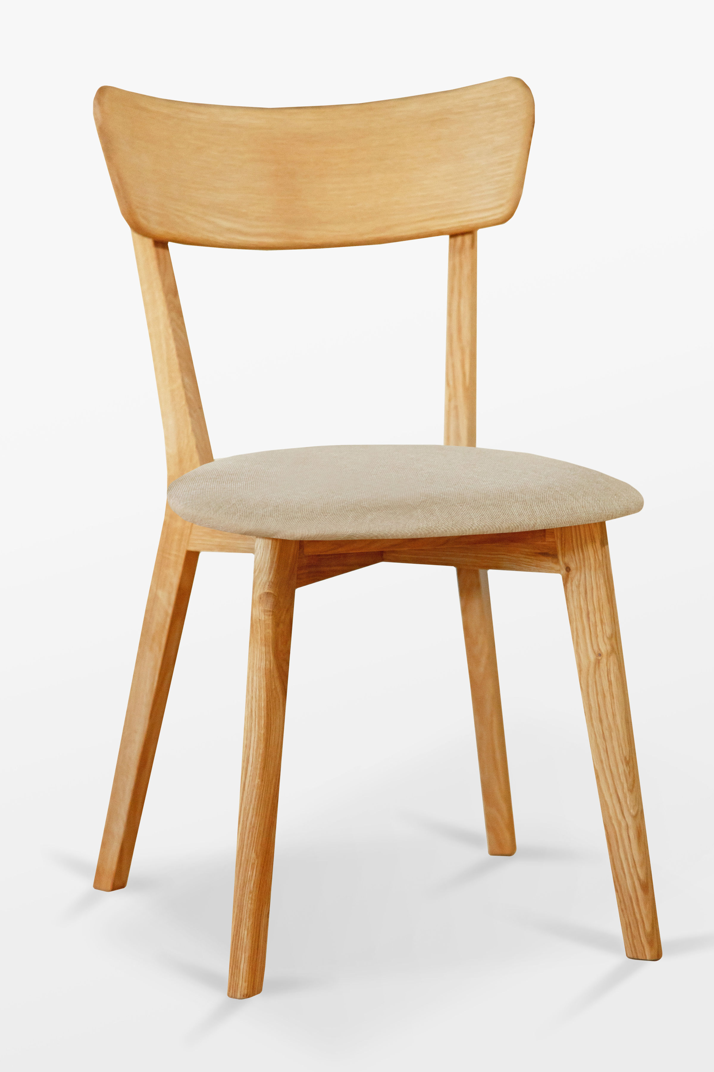 Krzesło dębowe 01 Tapicerka