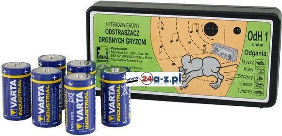 Bateryjny Elektroniczny Odstraszacz na Kuny, Łasice, Tchórze, Myszy, Szczury...