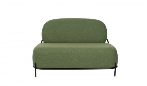 Sofa 2-osobowa Polly zielona