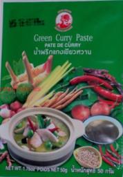 pasta curry zielona - 50g