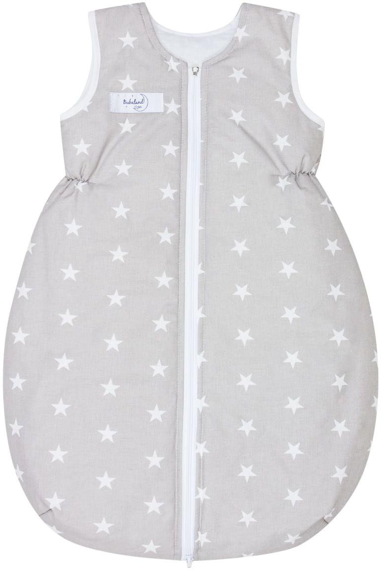 Śpiworek zimowy 2,5 tog niemowlęcy do spania ocieplany Szare Gwiazdy
