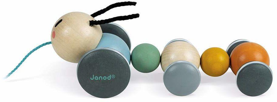 Janod J04420 1 B085J1PKWY Pociągnij wzdłuż gąsienicy