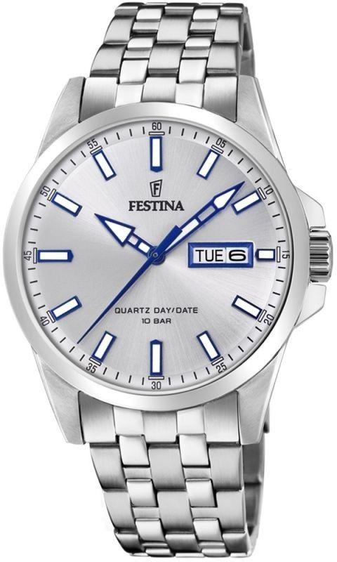 Zegarek Festina F20357-1 Classic Bracelet - CENA DO NEGOCJACJI - DOSTAWA DHL GRATIS, KUPUJ BEZ RYZYKA - 100 dni na zwrot, możliwość wygrawerowania dowolnego tekstu.