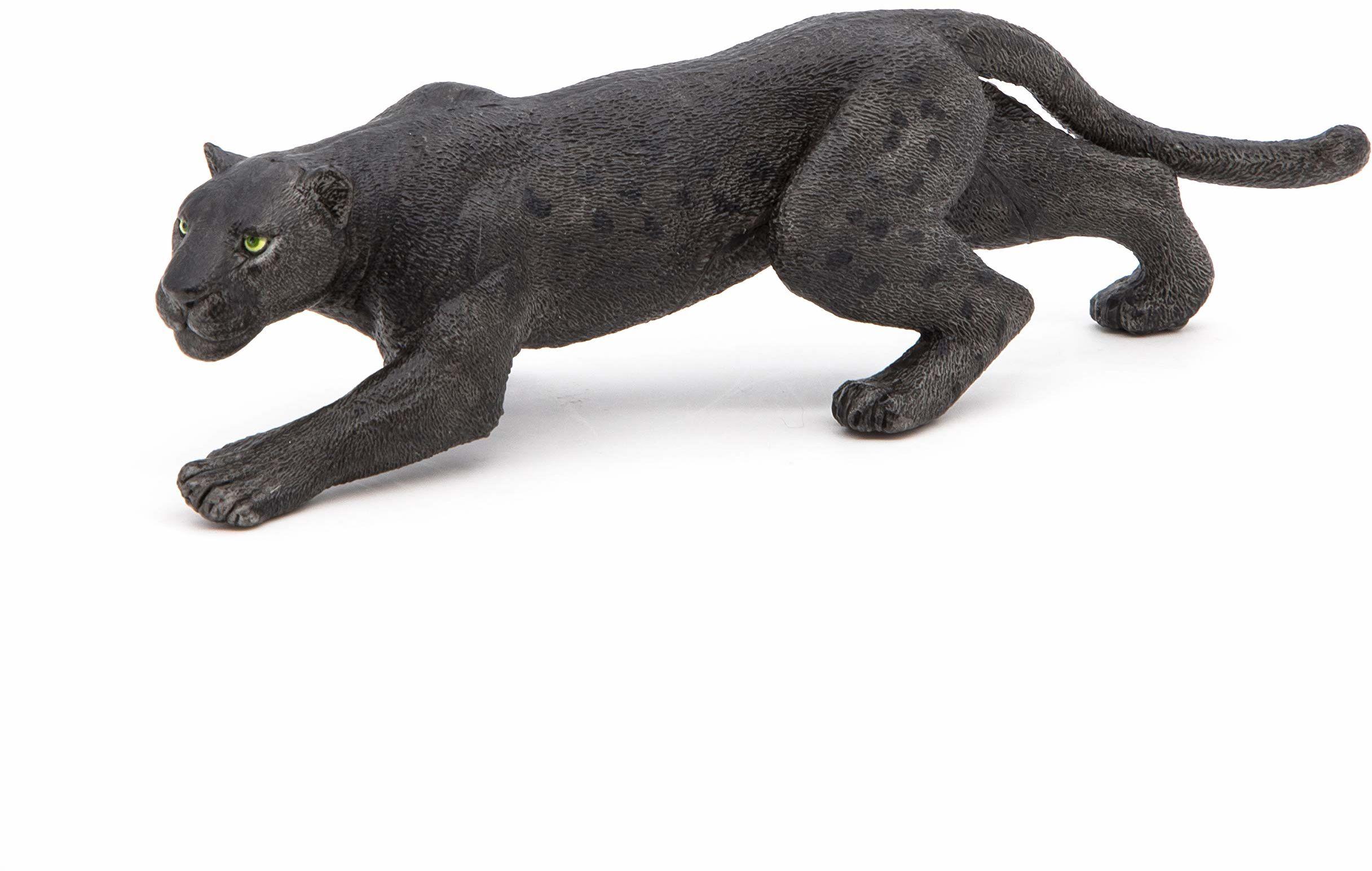Papo 50026 dzikie zwierzęta na świecie, czarny panter, wielokolorowy