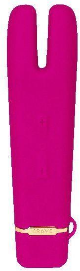 Wibrator - Crave Duet Flex Vibrator Pink Różowy