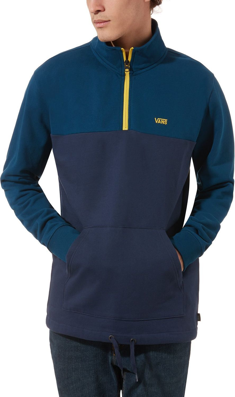 bluza męska VANS RETRO ACTIVE QZP HOODIE Gibraltar Sea/Dress Blues