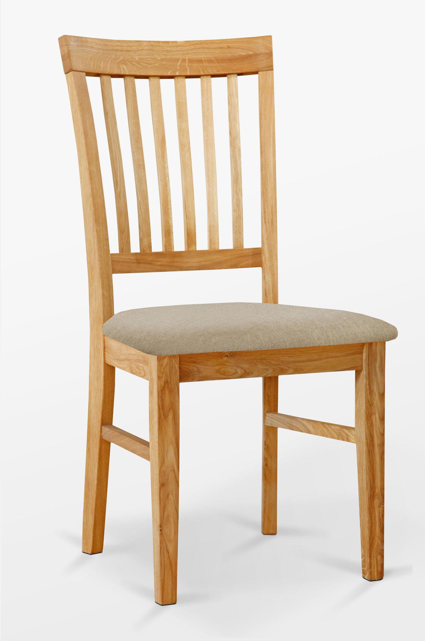 Krzesło dębowe 02 Tapicerka