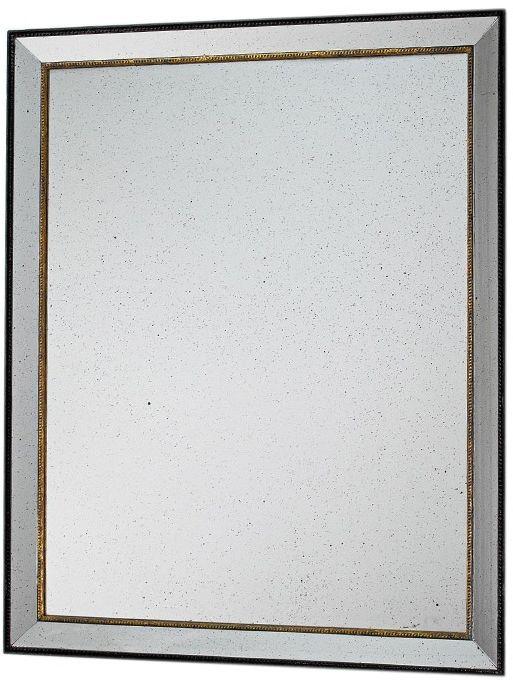Lustro ścienne postarzane 80x100